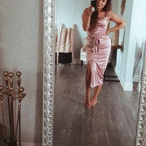 Zara Violet Slip Dress